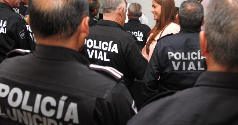 Retiro digno de elementos de la Policía Preventiva y Vial